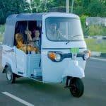 Piaggio Ape electric auto rickshaw