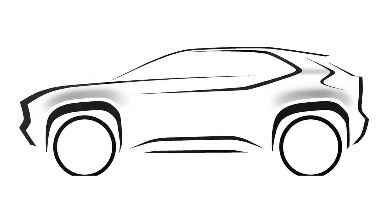 New Toytoa SUV teaser