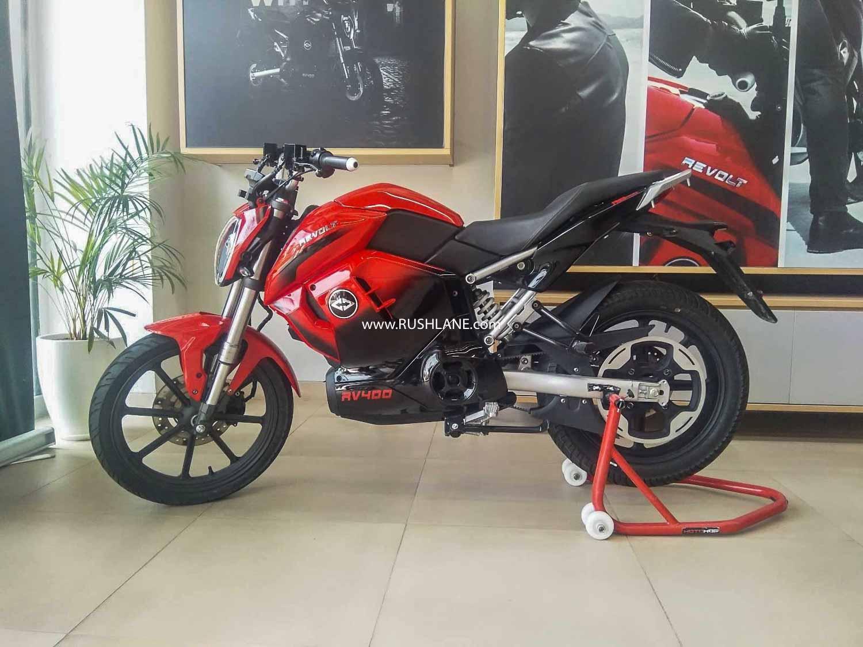 Revolt RV400 Electric Motorcycle