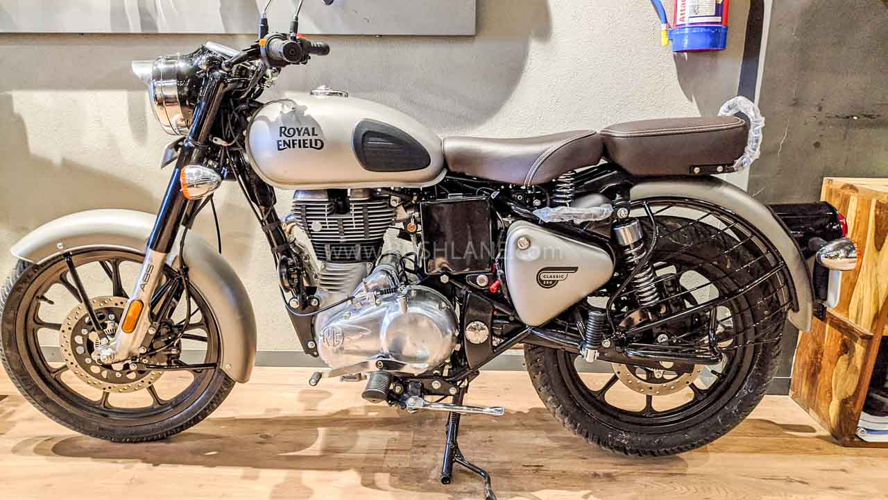 Royal Enfield sales Jan 2020