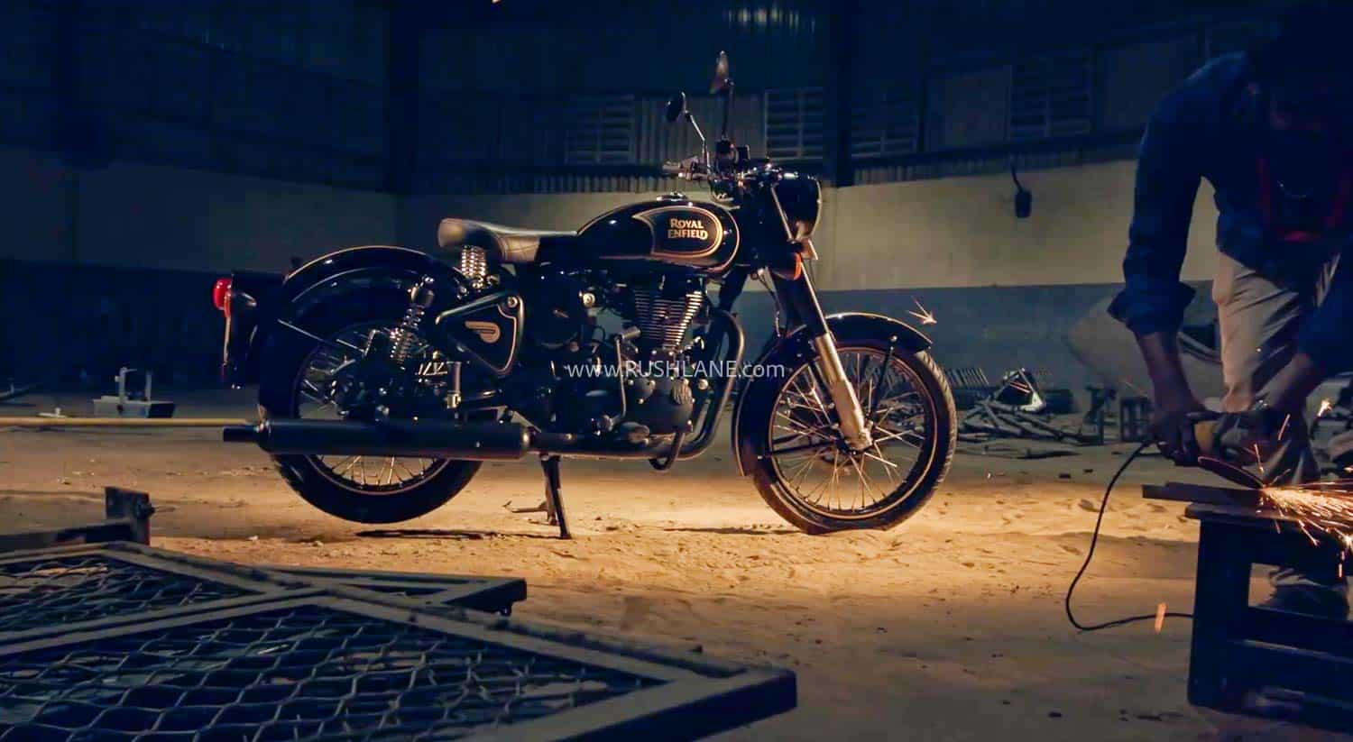 Royal Enfield Classic 500 Tribute Black Sale Today Video