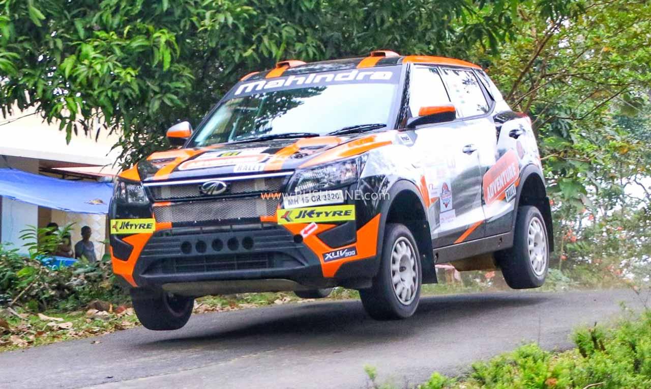 Super Mahindra XUV300 Rally