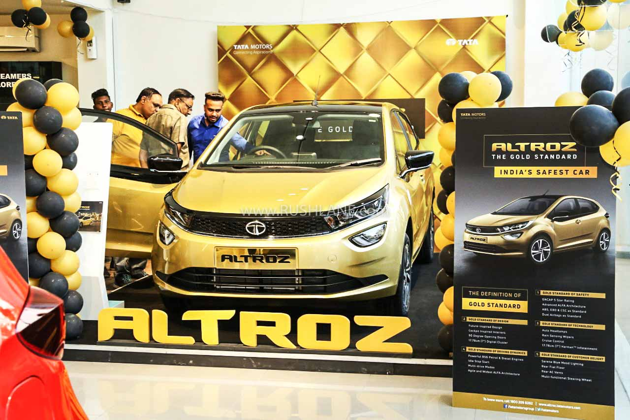 Tata Altroz first month sales