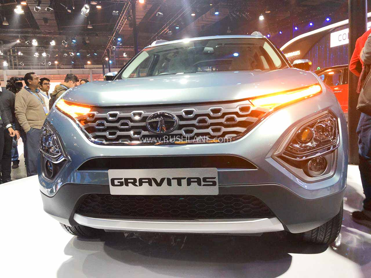Tata Gravitas at Auto Expo 2020