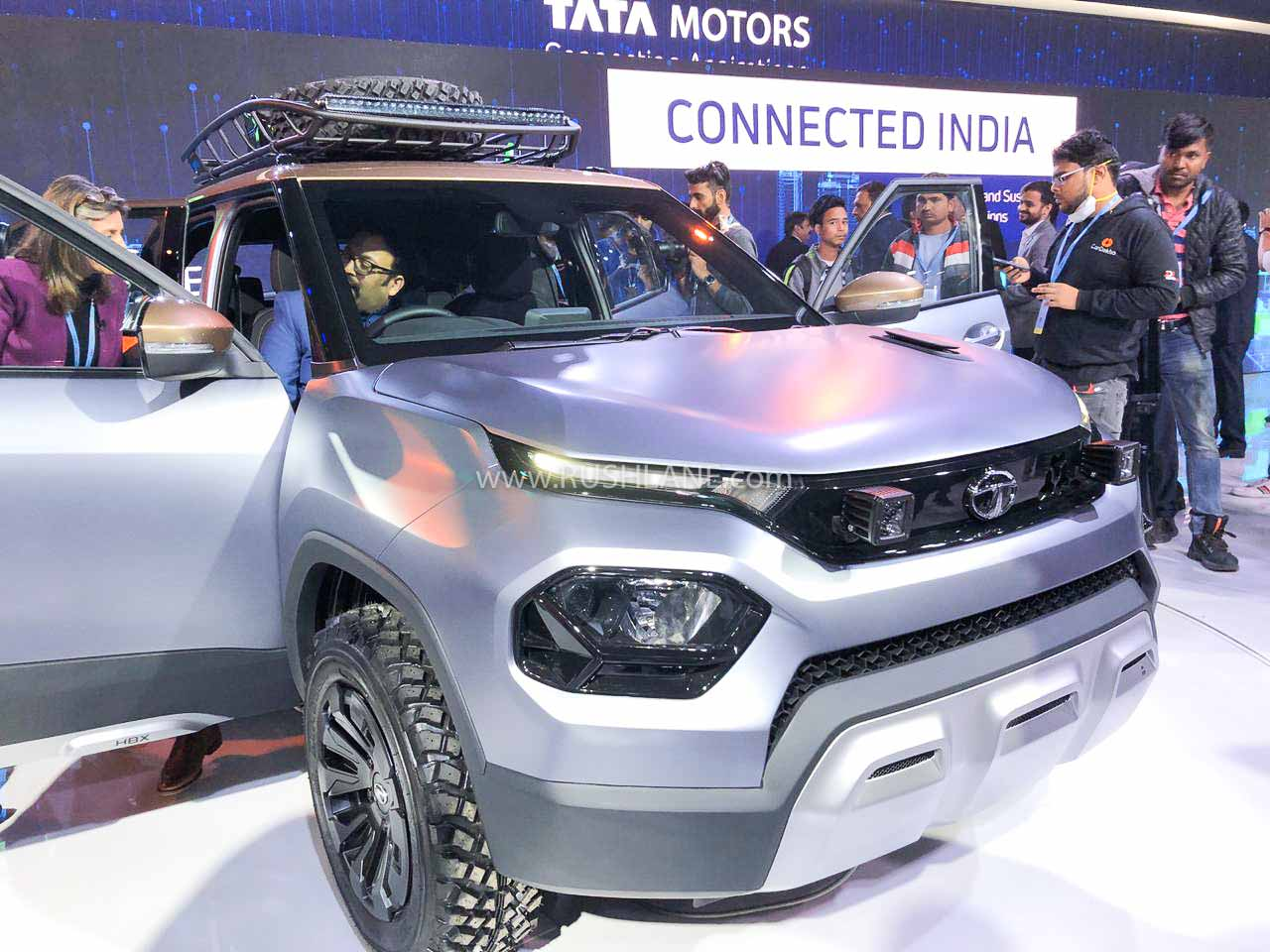 Tata HBX at Auto Expo 2020