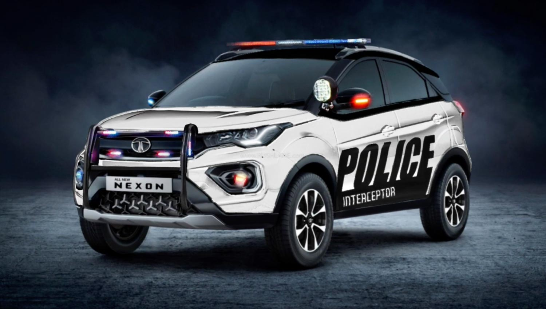 Tata Nexon Police Car