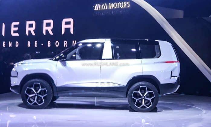 2020 Tata Sierra Concept