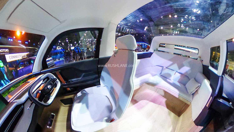 Tata Sierra Concept interiors