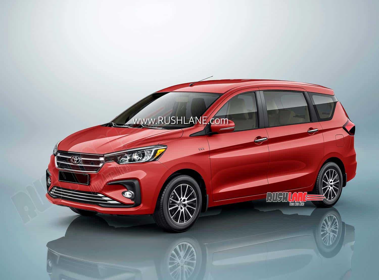 Toyota Ertiga MPV render