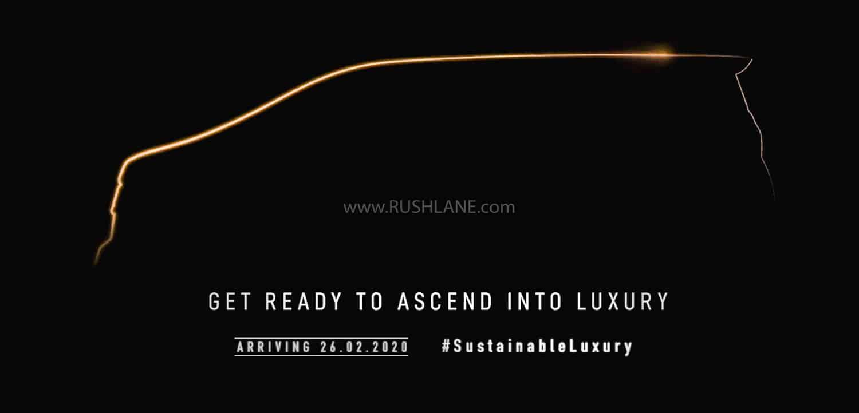 Toyota Vellfire launch teaser