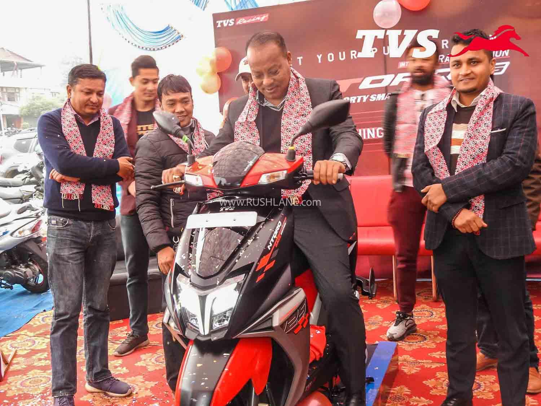 TVS Ntorq BS6 Race Edition