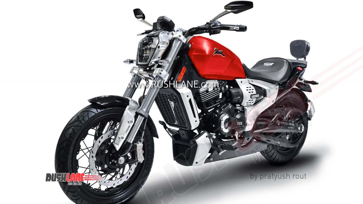 New Tvs Bmw Motorcycle Confirmed Is It Zeppelin Cruiser To Rival Royal Enfield