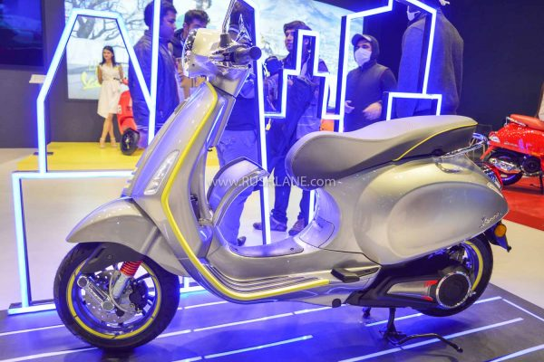 Vespa Electric Scooter At 2020 Auto Expo