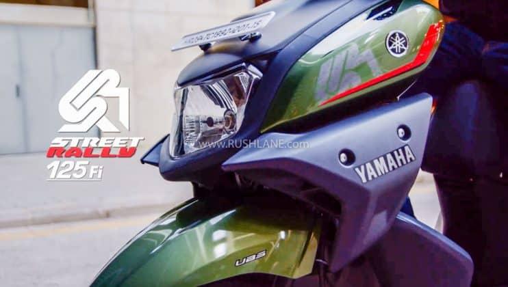 Yamaha Rayzr BS6