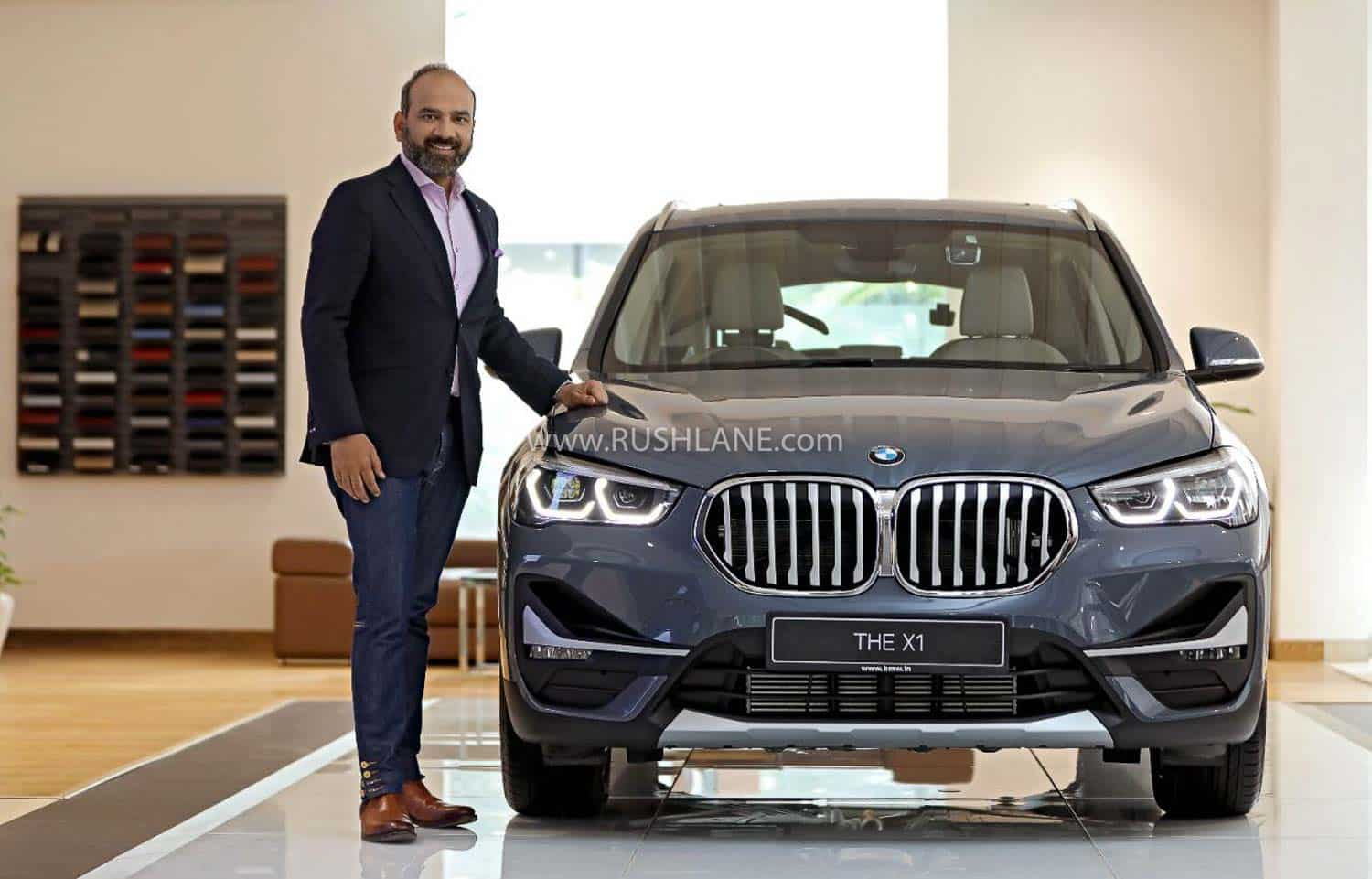 2020 BMW X1 facelift with BMW India President
