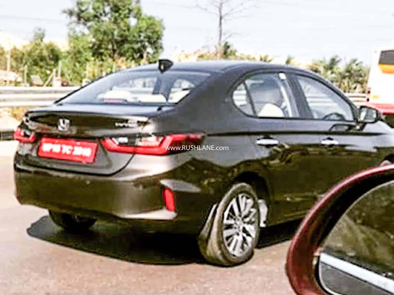 2020 Honda City spied undisguised in India