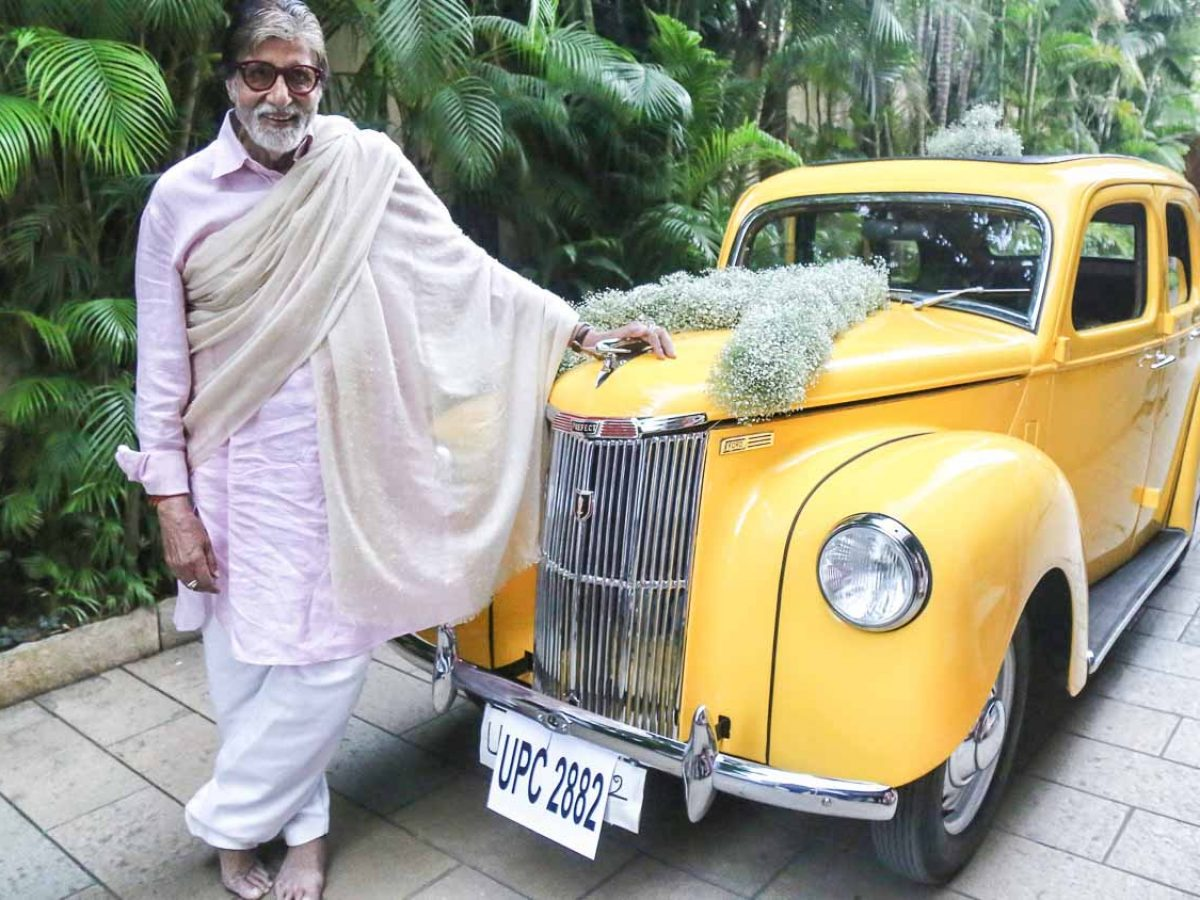Amitabh Bachchan's newest car is probably older than him