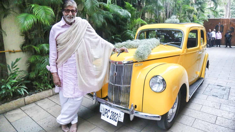 Amitabh Bachchan's new car
