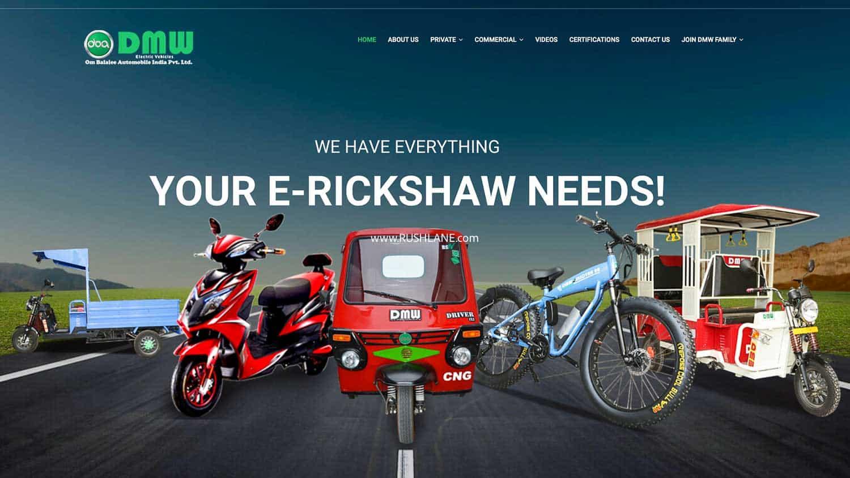 India's DMW EV maker