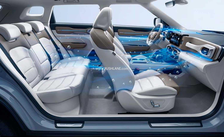 China Geely Icon SUV - Corona Virus Protection Car
