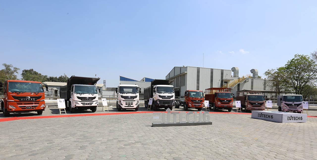 Eicher BS6 EUTECH6 Trucks
