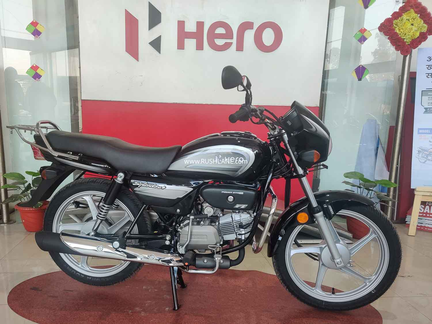 Hero Splendor BS6 sales