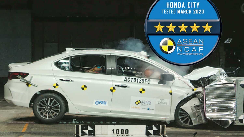 2020 Honda City crash test