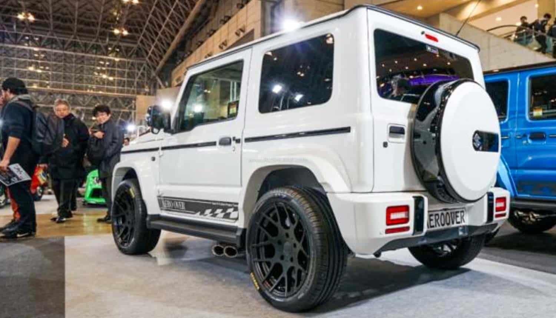 Maruti Jimny modified as Mercedes G Wagen
