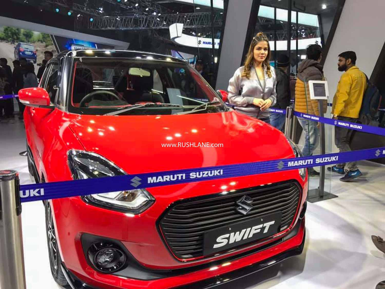 New Maruti Swift BS6 at Auto Expo.