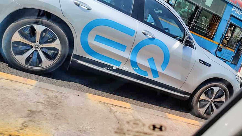 Mercedes EQC Electric Car