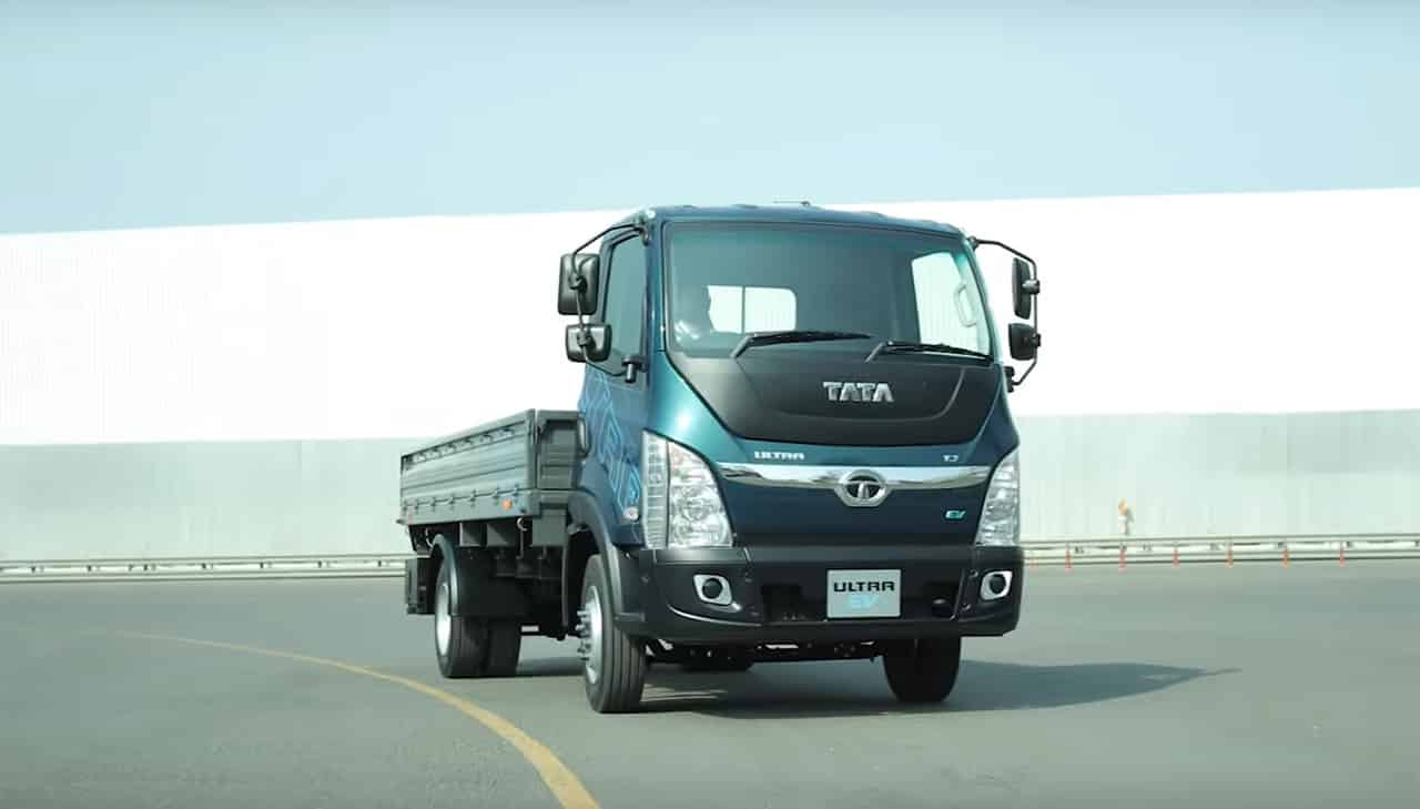 Tata Ultra T7 EV Electric Truck
