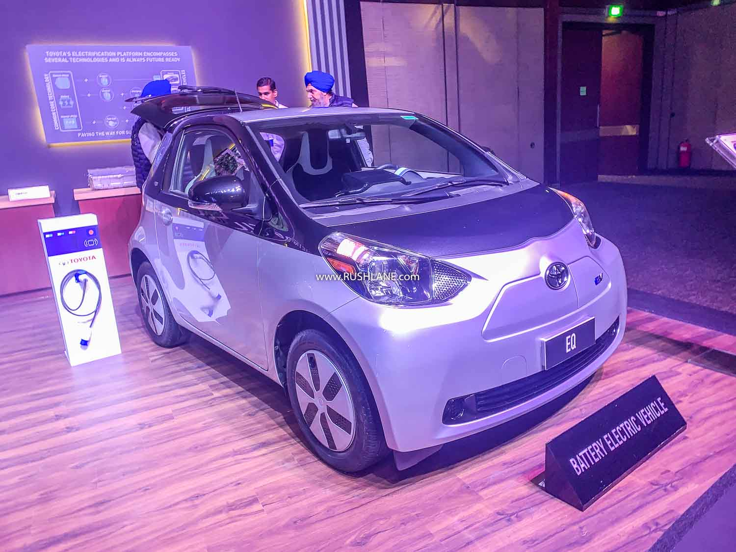 Toyota EQ Electric small car