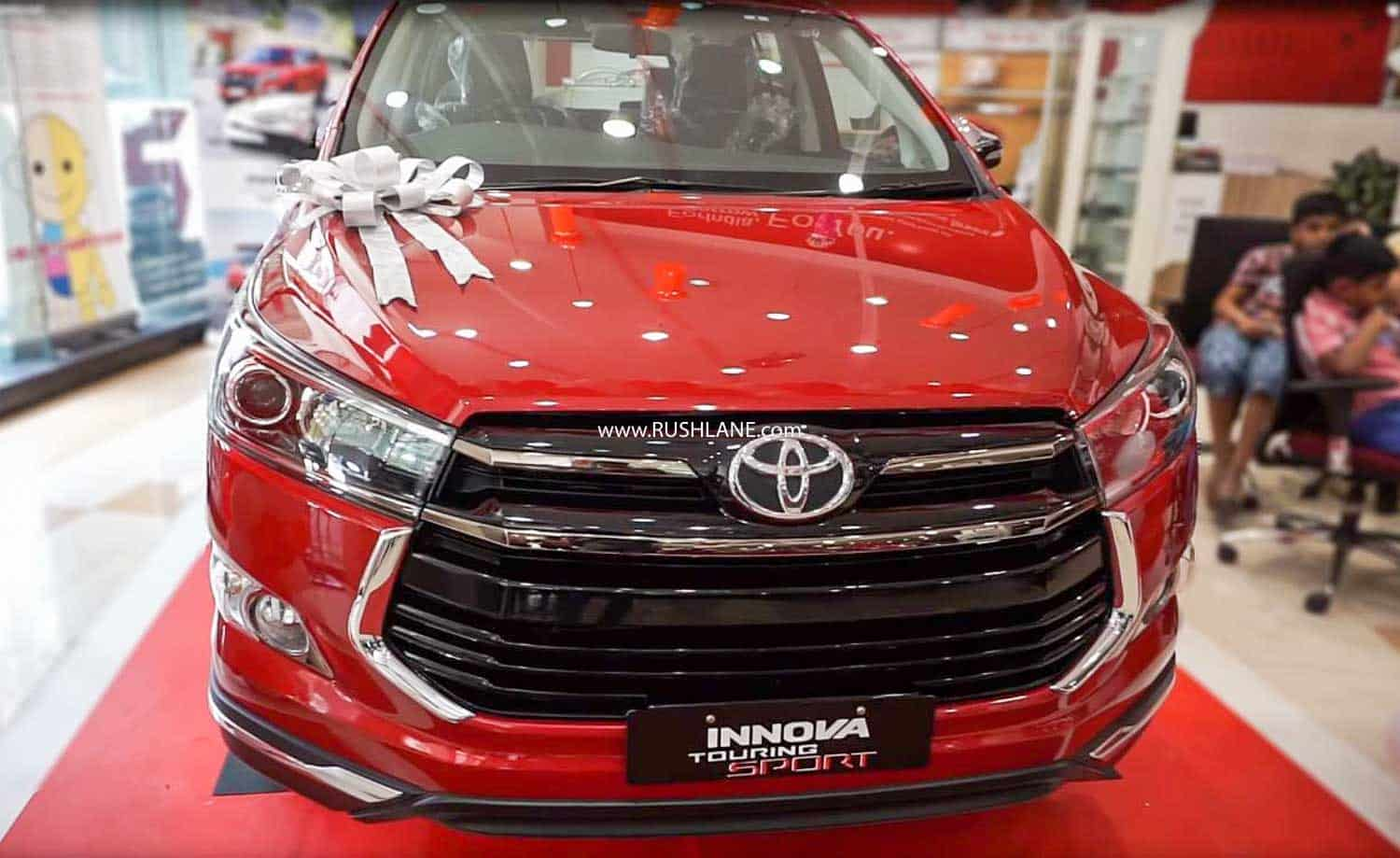 Toyota Innova Crysta Leadership Edition