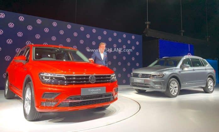 Volkswagen Tiguan Allspace India