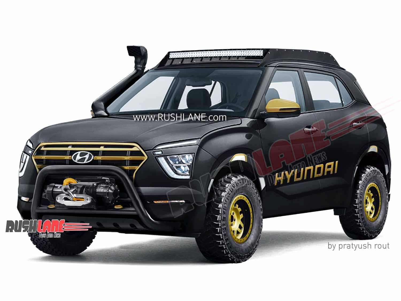 2020 Hyundai Creta off-road accessories