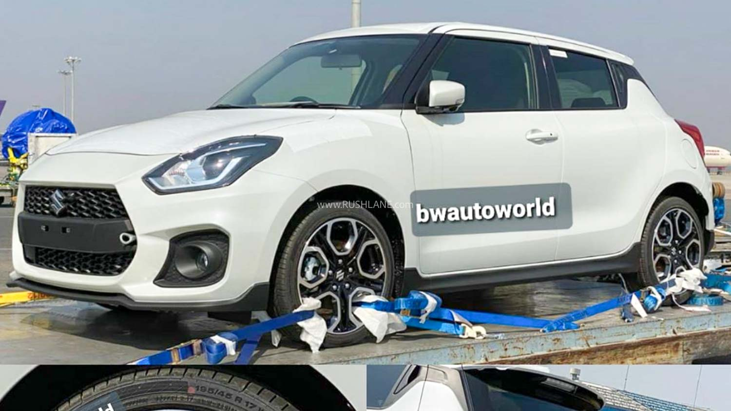 Maruti Suzuki Swift Sport Spied At Airport Import Section