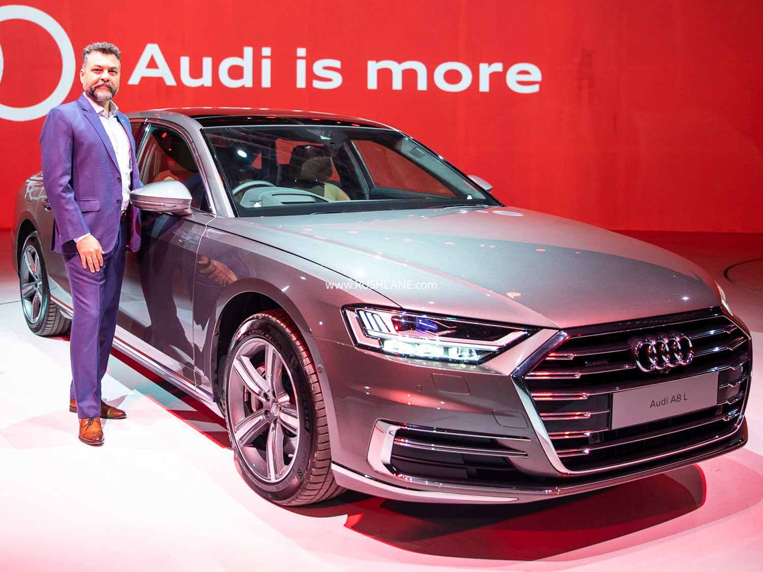 Audi India website lists only 3 cars – A6, Q8 and A8 L