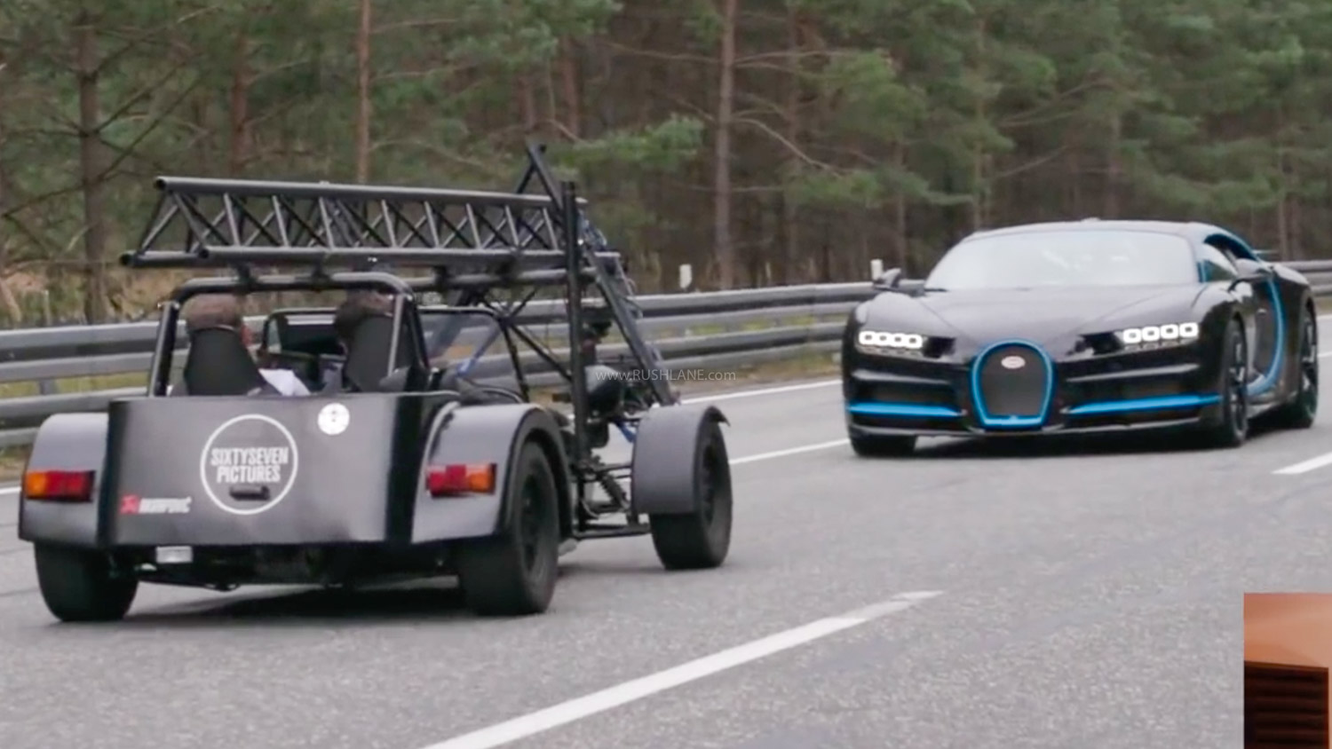 How Was Bugatti Chiron Top Speed Video Shot Explained