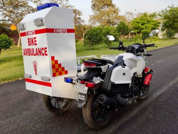 Hero Bike Ambulance
