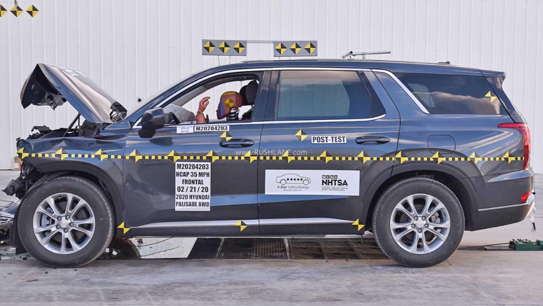 Hyundai Palisade Crash Test
