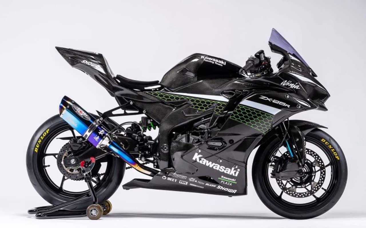 kawasaki ninja zx-25r racer custom