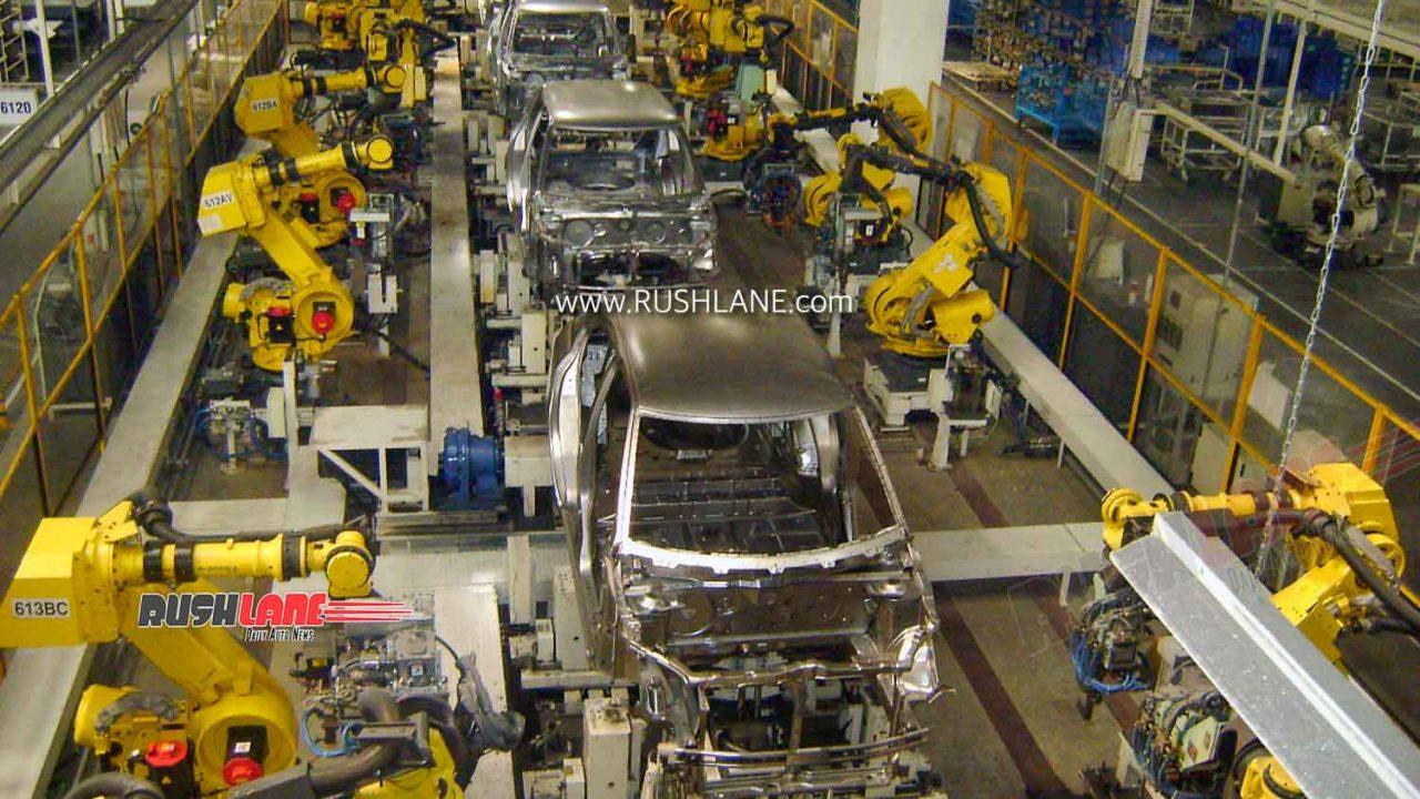 Maruti Suzuki assembly line