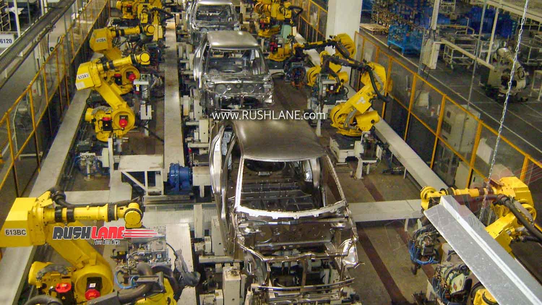 Maruti Car Plant