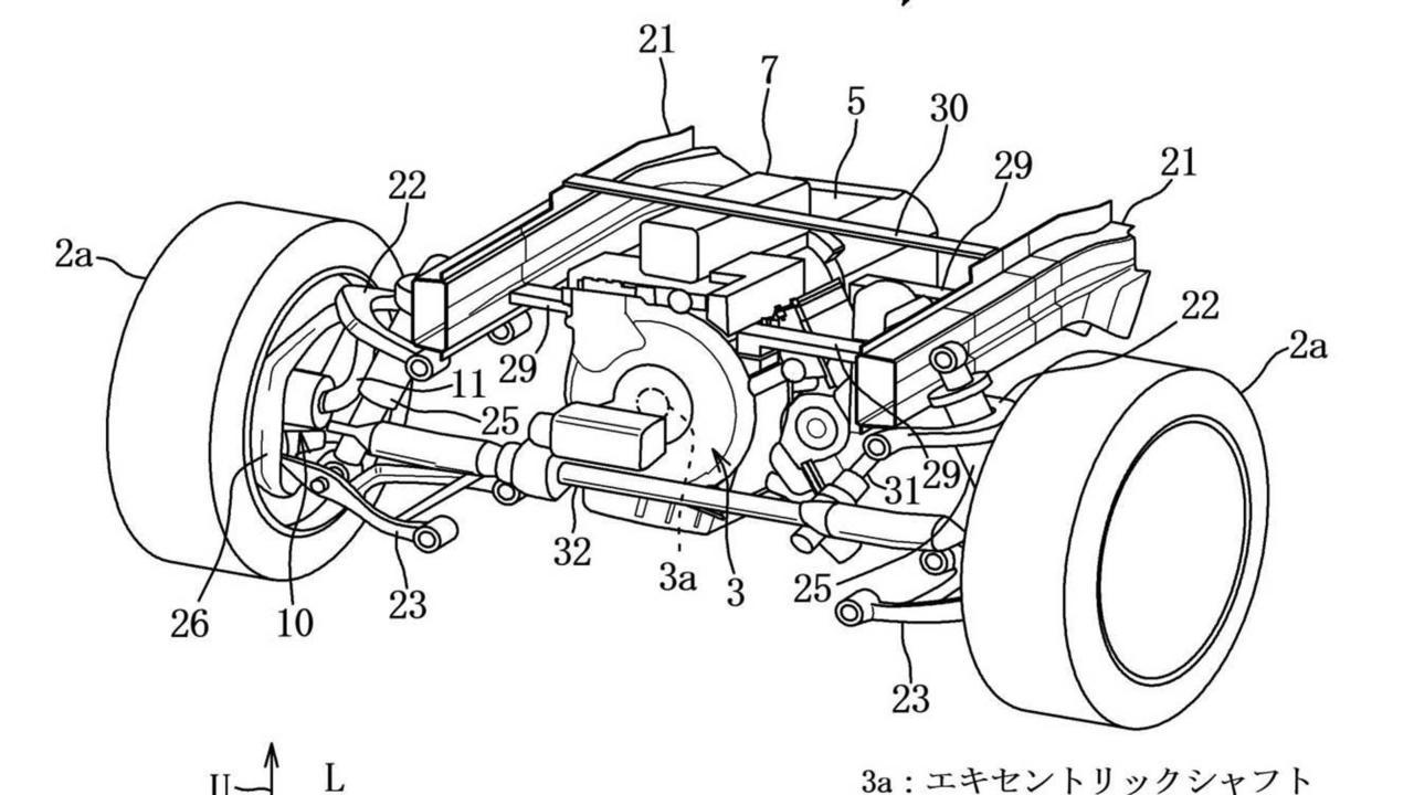 Mazda Rotary Hybrid AWD Patent
