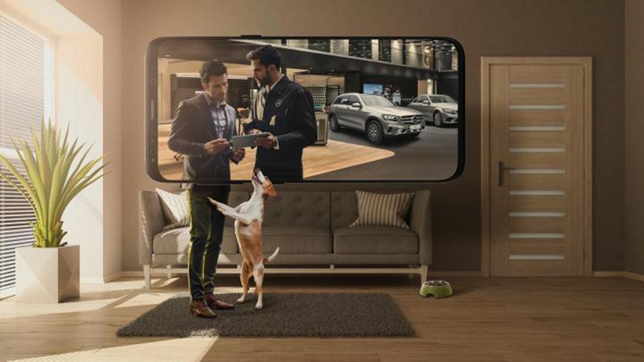 Mercedes-Benz 'Merc from Home'