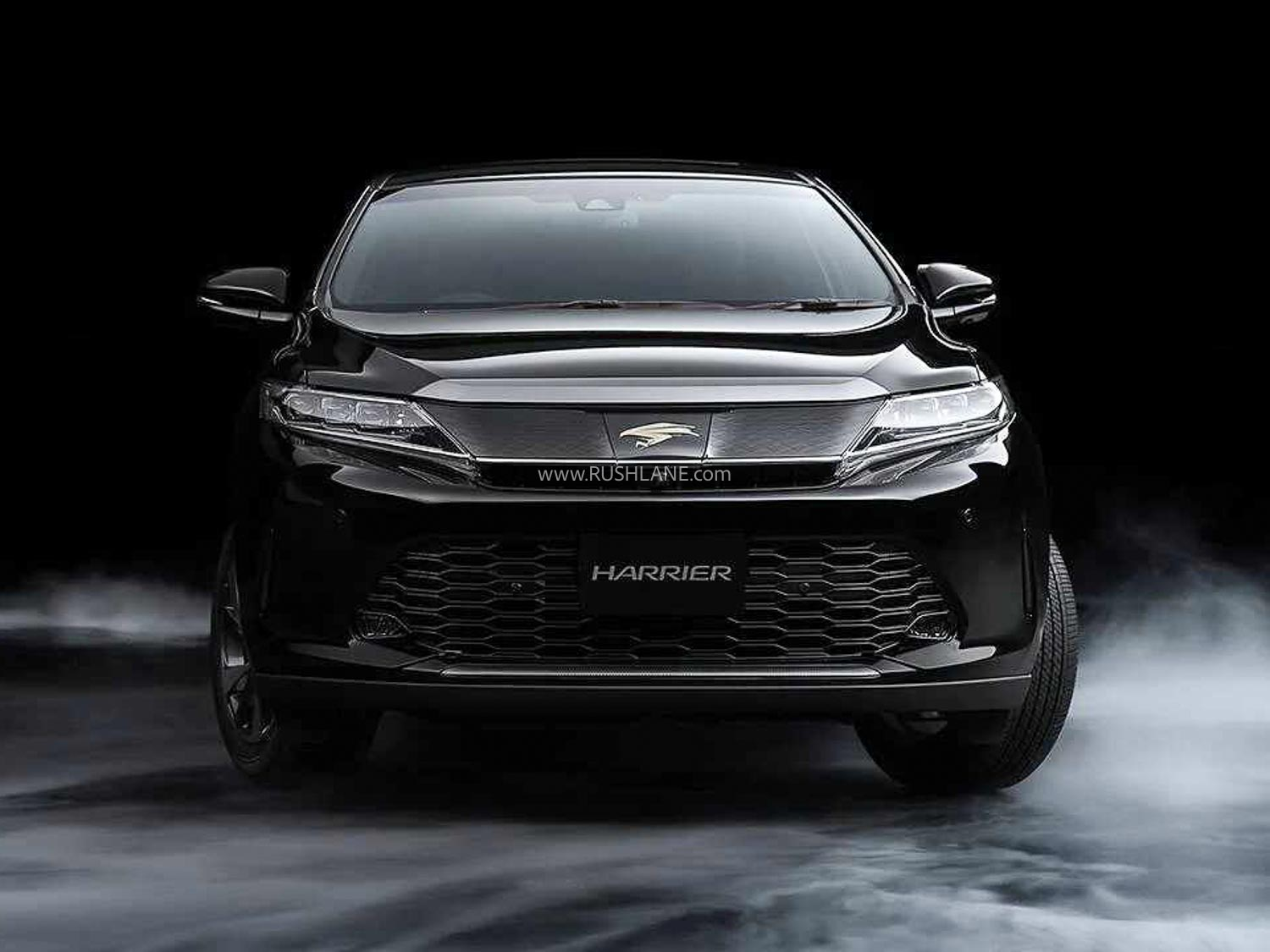 2021 toyota harrier next-gen first photos and details leaked