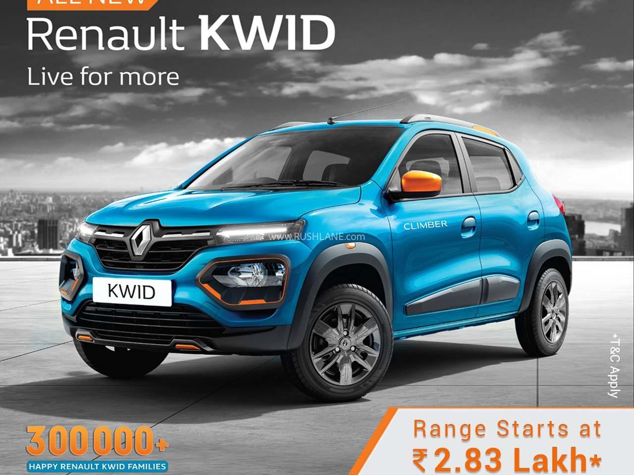 Lowest priced cars post lockdown – Renault Kwid to Hyundai Santro