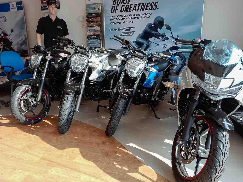 Suzuki Gixxer 155 and Gixxer 250 range prices increased – July 2020