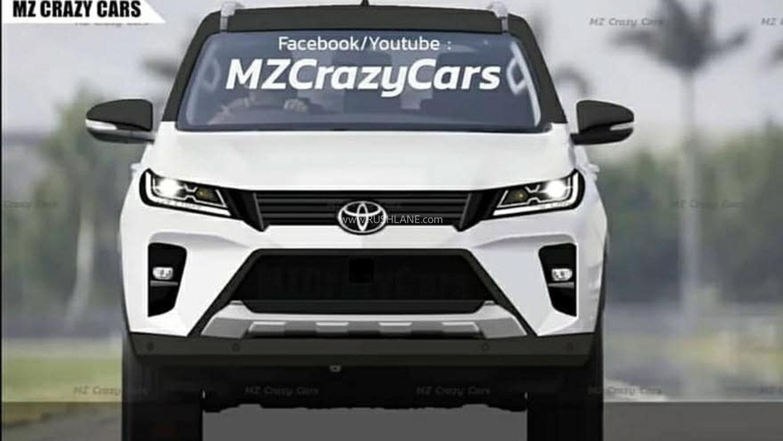 2020 Toyota Fortuner Render