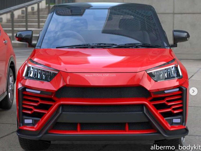 Toyota Raize Lamborghini Urus Kit